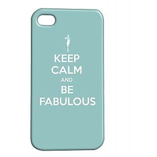 Pickpattern Back Cover For Apple Iphone 4/4S FABULOUSI4-945