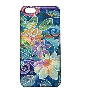 Pickpattern Back Cover For Apple Iphone 5C FLOWERVASEI5C-1836