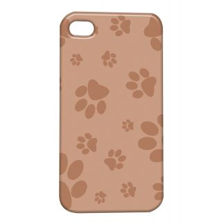 Pickpattern Back Cover For Apple Iphone 4/4S PAWPRINTOFKITTENI4-559