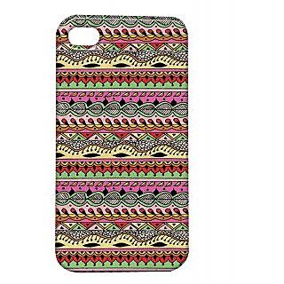 Pickpattern Back Cover For Apple Iphone 4/4S ROPESI4-1018