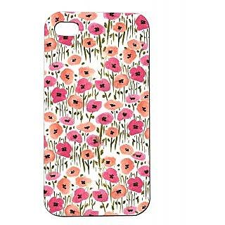 Pickpattern Back Cover For Apple Iphone 4/4S WATERFLOWERPAINTI4-792