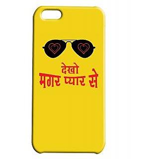 Pickpattern Back Cover For Apple Iphone 5C DABANGGI5C-1758