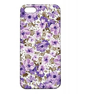 Pickpattern Back Cover For Apple Iphone 5/5S PURPLELOVEI5-1352