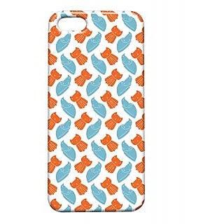 Pickpattern Back Cover For Apple Iphone 5/5S STARRINGKITTYI5-1535
