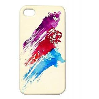 Pickpattern Back Cover For Apple Iphone 4/4S STROKESOFLOVEI4-718