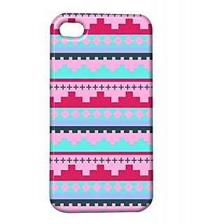 Pickpattern Back Cover For Apple Iphone 4/4S UPWARDI4-763