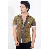 EdenElliot Mens Casual Shirt (117232 - Brown)