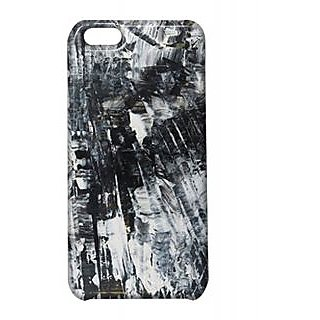 Pickpattern Back Cover For Apple Iphone 5C BLACKCLOUDYI5C-1621