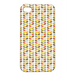 Pickpattern Back Cover For Apple Iphone 4/4S COLORFULLEAFDESIGNI4-1005