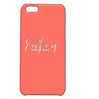 Pickpattern Back Cover For Apple Iphone 5C ENJOYLIFEI5C-1804
