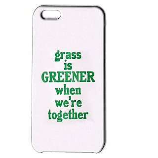 Pickpattern Back Cover For Apple Iphone 5C GREENGRASSI5C-1884
