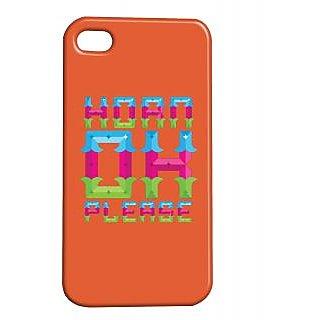 Pickpattern Back Cover For Apple Iphone 4/4S HORNPLEASEI4-361