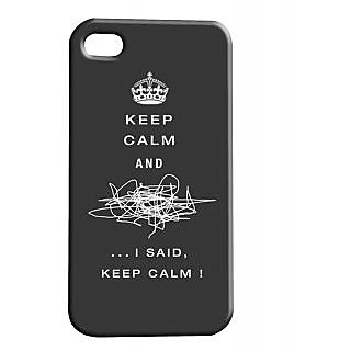 Pickpattern Back Cover For Apple Iphone 4/4S KEEPCALMI4-385