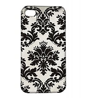 Pickpattern Back Cover For Apple Iphone 4/4S BLACKAVTARI4-51
