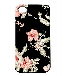 Pickpattern Back Cover For Apple Iphone 4/4S BLACKJNESSI4-62