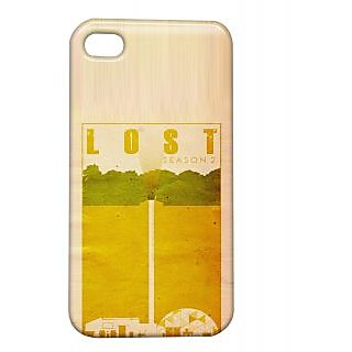 Pickpattern Back Cover For Apple Iphone 4/4S LOSTI4-432