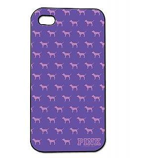 Pickpattern Back Cover For Apple Iphone 4/4S PINKMARKI4-594
