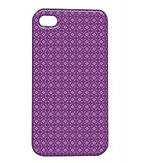 Pickpattern Back Cover For Apple Iphone 4/4S ROUND&WINEI4-1152