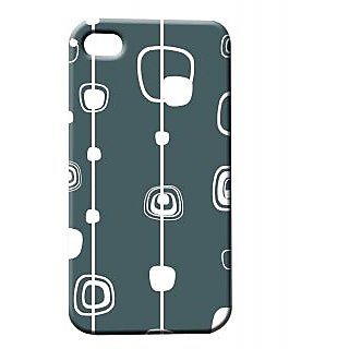 Pickpattern Back Cover For Apple Iphone 4/4S SIMPLECHAINI4-692