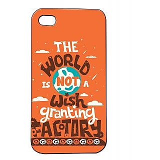 Pickpattern Back Cover For Apple Iphone 4/4S WORLDFACTORYI4-831