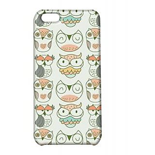 Pickpattern Back Cover For Apple Iphone 5C LIGHTOWLI5C-1983