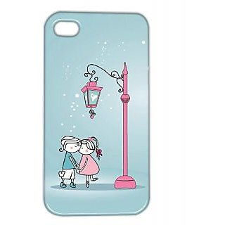 Pickpattern Back Cover For Apple Iphone 4/4S UNCONDIONALLOVEI4-884