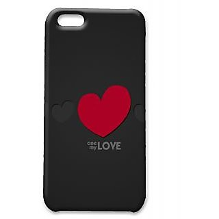 Pickpattern Back Cover For Apple Iphone 5C LOVEREDI5C-2009
