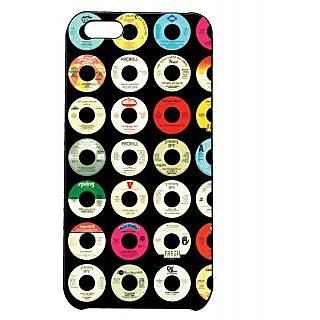 Pickpattern Back Cover For Apple Iphone 5C MULTICOLORDONUTSI5C-2049