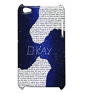 Pickpattern Back Cover For Apple Ipod Touch 4 FAULTIT4-4931