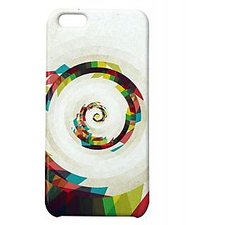 Pickpattern Back Cover For Apple Iphone 5C SPIRALPATHI5C-2275