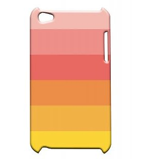 Pickpattern Back Cover For Apple Ipod Touch 4 YELLOWTOREDIT4-4323