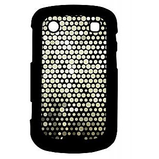 Pickpattern Back Cover For Blackberry Bold 9900 BLACKDISCOWALL9900-5937
