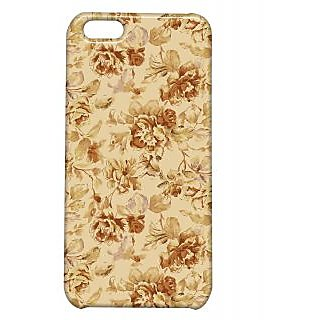 Pickpattern Back Cover For Apple Iphone 5C OLDFLOWERSI5C-2583