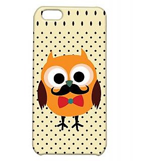 Pickpattern Back Cover For Apple Iphone 5C OWLCUTENESSI5C-2448