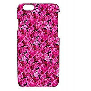 Pickpattern Back Cover For Apple Iphone 6 PINKFLOWERI6-3043