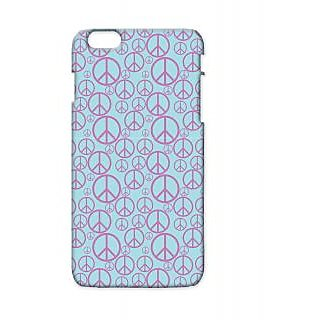 Pickpattern Back Cover For Apple Iphone 6 Plus PURPLEPIECEI6PLUS-4163