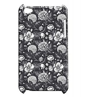 Pickpattern Back Cover For Apple Ipod Touch 4 BLACKSERIESIT4-4391