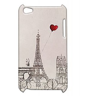 Pickpattern Back Cover For Apple Ipod Touch 4 EFFIELTOWERIT4-4912