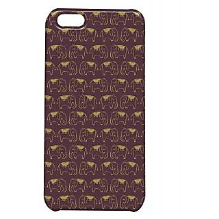 Pickpattern Back Cover For Apple Iphone 5C ELEPHANTMOTIFI5C-2479