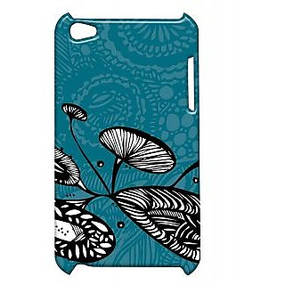Pickpattern Back Cover For Apple Ipod Touch 4 LOTUSLEAFIT4-4465