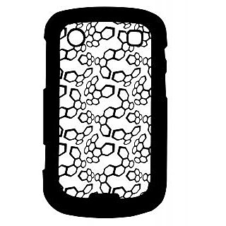 Pickpattern Back Cover For Blackberry Bold 9900 BLACKCELLS9900-5936