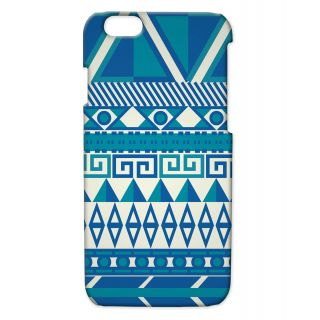 Pickpattern Back Cover For Apple Iphone 6 BLUEAZTECI6-2832
