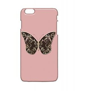 Pickpattern Back Cover For Apple Iphone 6 Plus BUTTERFLYI6PLUS-4012