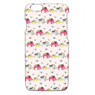 Pickpattern Back Cover For Apple Iphone 6 ELEPHANTPRINTI6-3236