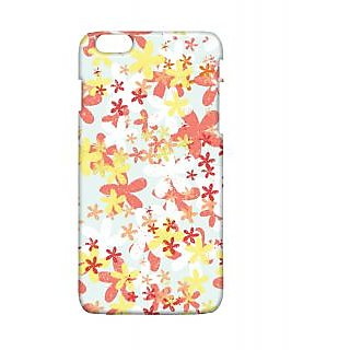 Pickpattern Back Cover For Apple Iphone 6 Plus FLOWERPUNCHI6PLUS-4053