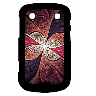 Pickpattern Back Cover For Blackberry Bold 9900 IRONSTRUCTURE9900-5947