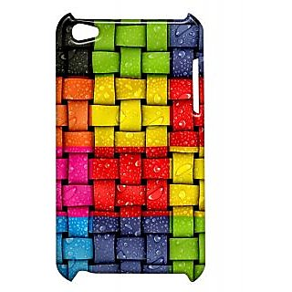 Pickpattern Back Cover For Apple Ipod Touch 4 MULTICOLORUPIT4-5165
