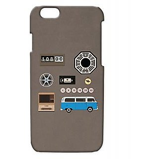Pickpattern Back Cover For Apple Iphone 6 VINTAGEGREENI6-3141