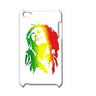 Pickpattern Back Cover For Apple Ipod Touch 4 BOBMARLEYIT4-4783