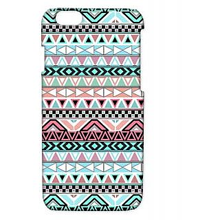 Pickpattern Back Cover For Apple Iphone 6 GREENISHREDI6-2938